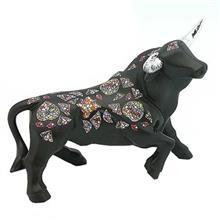 مجسمه نادال مدل Bull Black Small Memory 765090