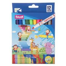 Fans Color Pens 12 Color Painting Marker