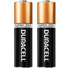Duracell Duralock Alkaline AA Battery Pack Of 2