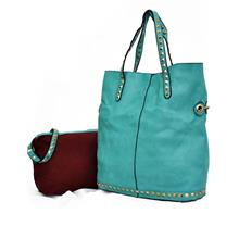 Linda Twin Shoulder Leather Woman Bag No.2646