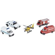 Siku Emergency Vehicles Toys Car Set