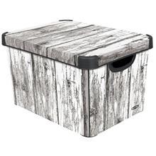 جعبه دکوری دردار کرور مدل Old Wood سایز یزرگ