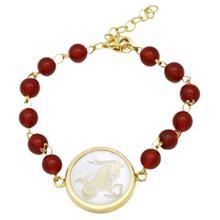 Mahak MB0128 Gold Bracelet
