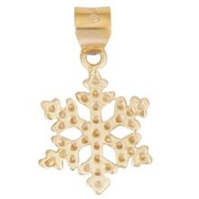 Rosa N006 Gold Necklace Pendant Plaque
