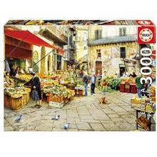 پازل 3000 تکه ادوکا مدل La Vucciria Market Palermo