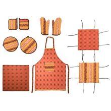 سرويس آشپزخانه 10 تکه لايکو Vivana طرح قهوه