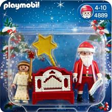 ساختني پلي موبيل مدل Little Angel and Santa 4889