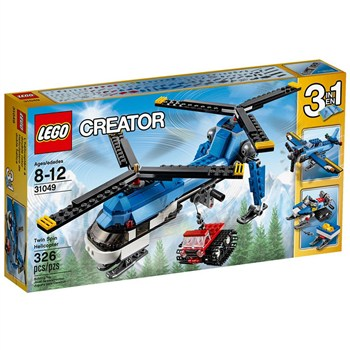 Creator Twin Spin Helicopter 31049 Lego