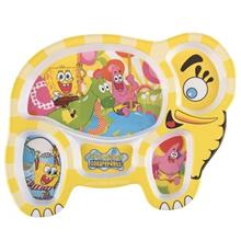 Blue Baby Sponge Bob Baby Divided Plate